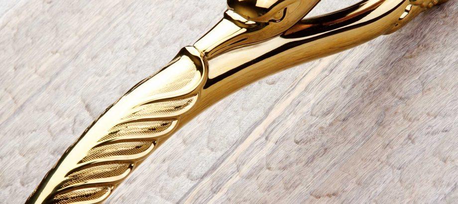 Diyako Door Handle Gold