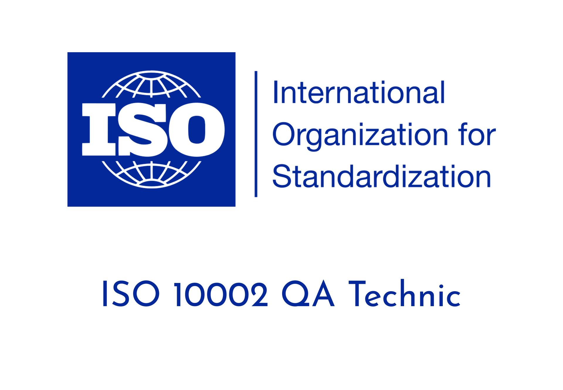 ISO 10002 QA Technic